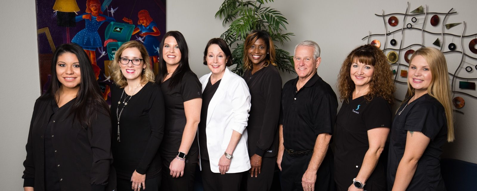 The Kelli Slate D.D.S. dental office team